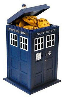 Dr Who - Official BBC Merchandise Tardis Cookie Jar With Sound - New In Box