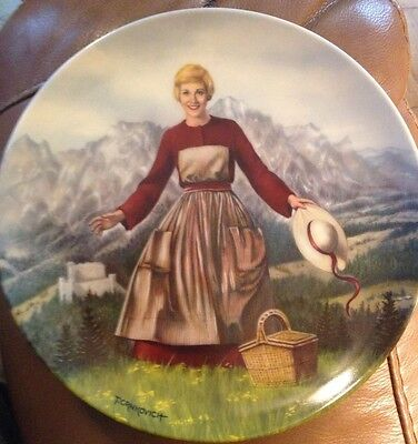 The Sound of Music Plate 1st Issue 1986, Knowles, Bradford Exchange with COA