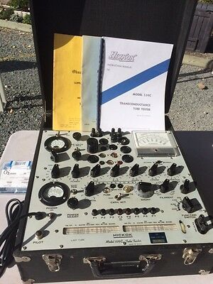 Nice Hickock 539C Tube Engineering Tester with Calibration Kit