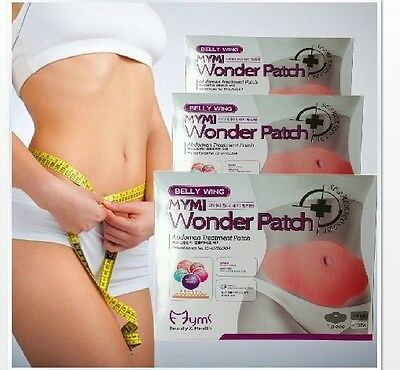 Cosmetics MYMI Korea Wonder Patch Belly wing abdomen treatment One Box 5 tablets