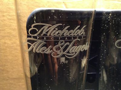 Michelob Specialty ALES & LAGERS Tall Beer Glass set of 2