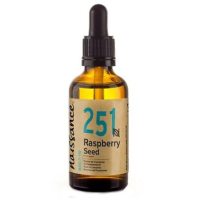 Naissance Raspberry Seed Oil - 100% Pure & Natural, Cold Pressed, DIY Skin Care