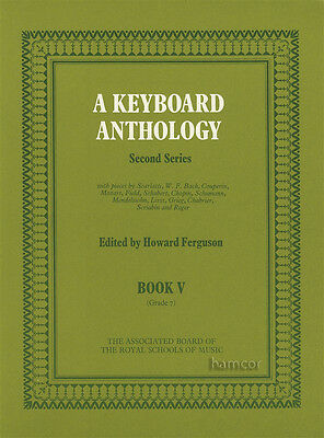 A Keyboard Anthology Book 5 ABRSM Piano Sheet Music Book V