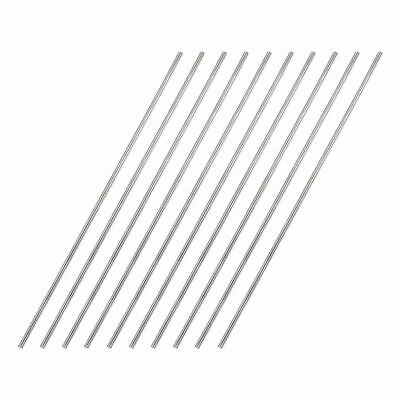 5pcs 316L Stainless Steel Rods Wire Diameter 2mm, length 0.5m (1.64 FT)