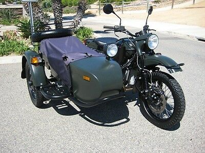 Ural : Gear Up 2013 ural gear up 2 wd with only 1148 mls w sidecar