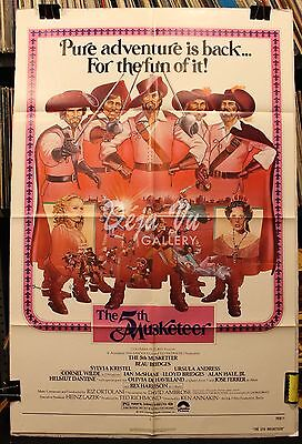 The Fifth Musketeer Original Movie Poster 1979 - Fine