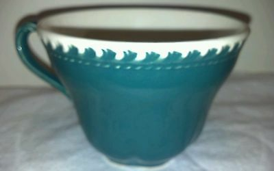 PERFECT MINT HARKER POTTERY CHESTERTON GREEN CUP NO CHIPS/CRACKS/CRAZING/WEAR