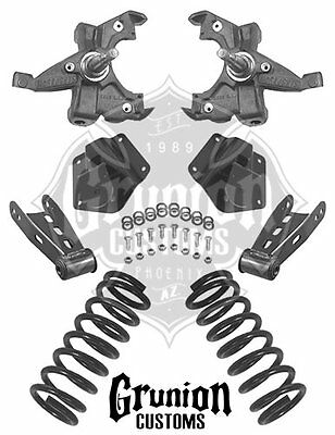 mcgaughy s lowering kit 2 front 4 rear chevy gmc silverado sierra 2014 GMC Rims mcgaughys chevy tahoe 4 4 lowering kit 1995 2000 2wd suburban spindles coils