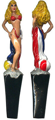 Beach Babe Beer Tap Handle- Draft Bar Kegerator Faucet Lever- Novelty Drink Gift