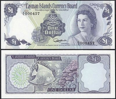 Cayman Islands - 1 Dollar 1974 Prefix A4 Pick 5a RAR UNC = Kassenfrisch (13106