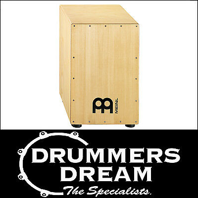 Meinl Percussion Headliner Series rubber wood Cajon HCAJ3NT Drum Rhythm Box NEW
