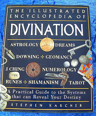 The Illustrated Encyclopedia of Divination by Stephen Karcher - Hardcover