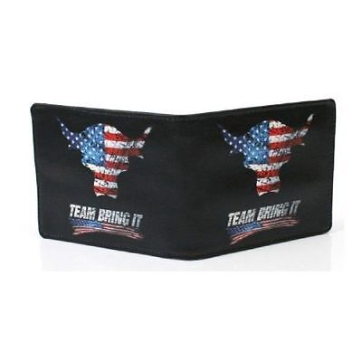 Wwe The Rock Team Bring It Usa Wallet Official New Rare