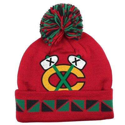a82baaf88a8bd INFANT NHL CHICAGO Blackhawks Embroidered Knit Hat by  47 -  10.50 ...