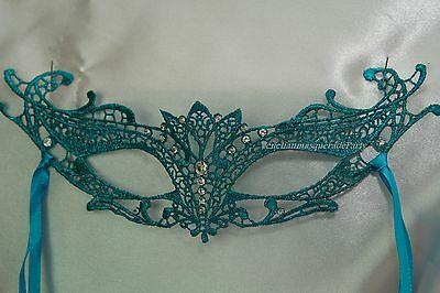 Soft Lace Masquerade Mask wear under Glasses Halloween Costume Party -Sexy