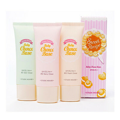 [ETUDE HOUSE]  Sweet Recipe Baby Choux Base Tube Pitch Choux #3 SPF25 PA++ 35g