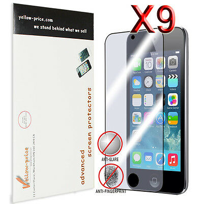 9pcs Anti Glare Matte Finishing LCD Screen Protector Apple iPod Touch 5 5th Gen