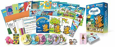 Hindi for Kids Deluxe set, Hindi learning DVDs, Books, Posters, Flashcards