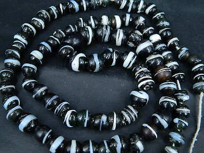 Ancient Medieval Glass Beads Strand C.1400 AD