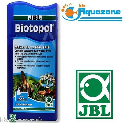 JBL Biotopol 250ml WATER CONDITIONER ORIGINAL PRODUCT
