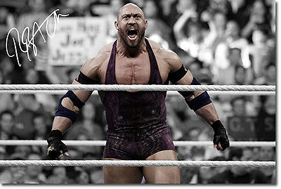 RYBACK - WWE - SIGNED PHOTO PRINT POSTER - HIGHEST QUALITY PRINT