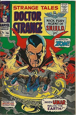 Strange Tales 156 Marvel Silver Age 1967 Kirby and Steranko Art