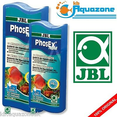 JBL PhosEx RAPID 100ml or 250ml Phosphate remover * reducer for freshwater * NEW