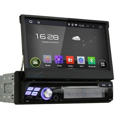 "7"" 1 din autoradio dvd gps Android 4.4.4 bluetooth radio 3G WiFi OBD DVR/DTV-IN"