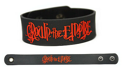 CROWN THE EMPIRE Rubber Bracelet Wristband The Resistance: Rise of The Runaways