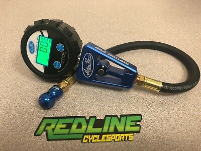Motion Pro DIGITAL Tire Pressure Gauge 0-60 PSI for sportbike ** Ships FAST **