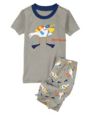 GYMBOREE SLEEPWEAR DACHSHUND LONG BOARDER 2pc PAJAMAS GYMMIES 3 4 5 6 7 8 10 NWT