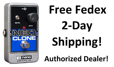 New Electro-Harmonix EHX Neo Clone Analog Chorus Guitar Effects Pedal!