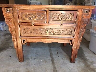 Altar Coffer Ching Style Ching Dynasty