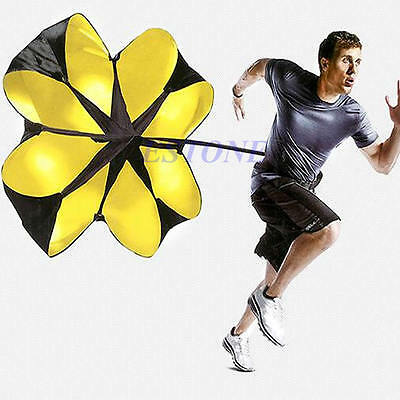 "New 56"" Sports Speed running power Chute resistance exercise training parachute"