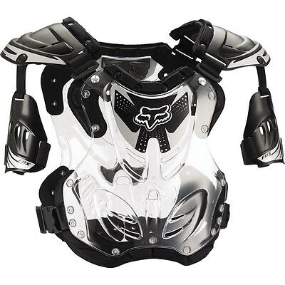 Fox Racing R3 Roost Deflector Chest Protector Adult & Youth Black MX ATV MTB
