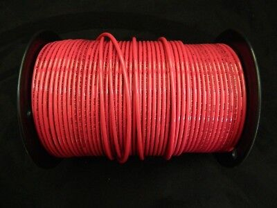 10 Gauge Thhn Wire Stranded Red 100 Ft Thwn 600V Building Machine Cable Awg