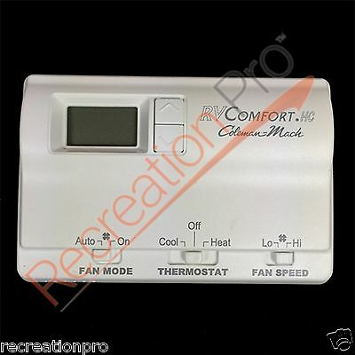 RVP 8330-3362 Coleman Mach White Digital Wall Thermostat Brand New!! Free Ship