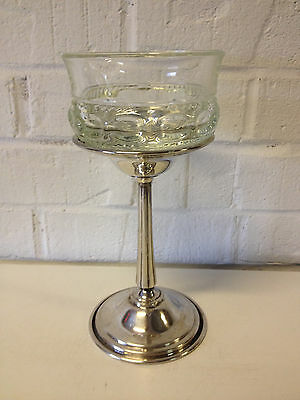 Vintage International Silver Co. Lovelace Silver Plated Relish Dish / Stand