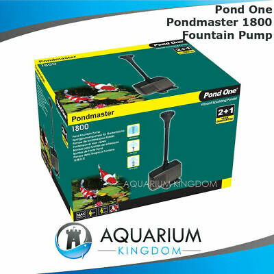Pond One PondMaster 1800 Fountain Pump Kit 1800L/h - Indoor Outdoor Feature