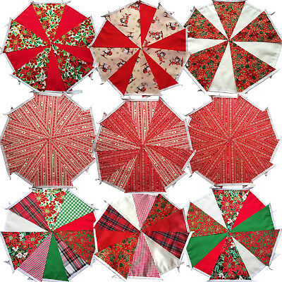 CHRISTMAS XMAS BUNTING DECORATION BANNER GARLAND 10FT / 3m DESIGNS 2016 3 for 2