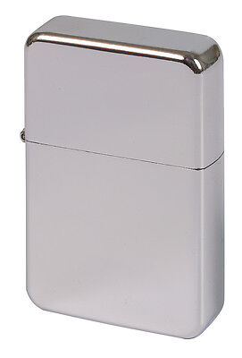 Polished Chrome Lighter Personalised Laser Engraved - High Quality Stunning Gift