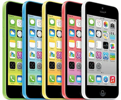 AT&T iPhone 5c 16GB Apple Factory Unlocked Smartphone Clean Esn