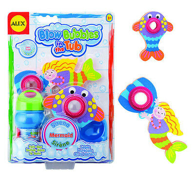 Alex Toys BLOW BUBBLES IN THE TUB MERMAID Game TOY Pool Special Needs AL832WM