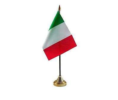 Italy Hand Table or Waving Flag Country Italian