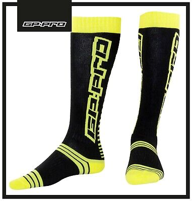 New Adult Gp-Pro Mx Off Road Motocross Boot Socks Knee High Mx Socks