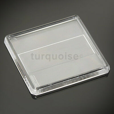 1x Clear Acrylic Blank Fridge Magnets 58 x 58 mm | Square Size Photo