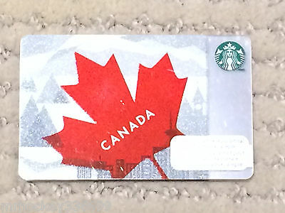 2013 Starbucks Canada Leaf collectible Gift Card (no cash value) 129