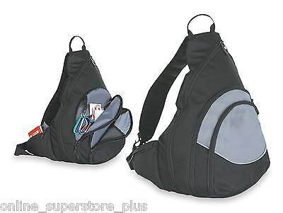 DALIX Single Strap Sling Backpack with Buckle Hiking Sports Bag Travel Outdoor