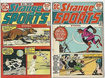 Strange Sports Stories # 1 -# 6 Sept-Oct 1973-July-Aug 1974