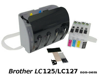 CISS Brother LC125/LC127 - Encre Continue non-oem VIDE